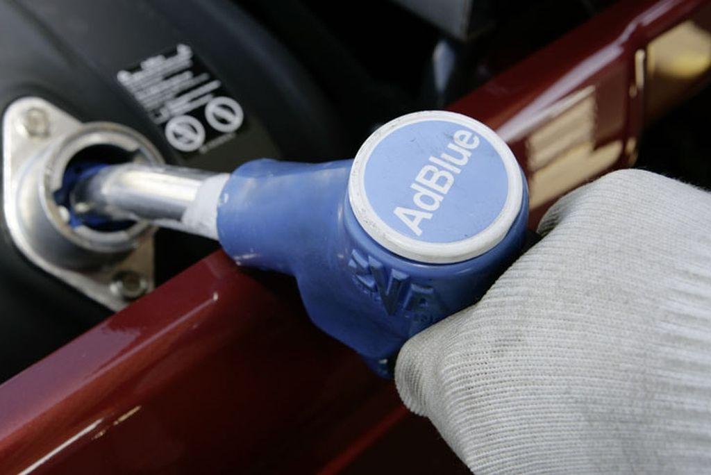 AdBlue® tankolásra is lehetőség van nálunk!