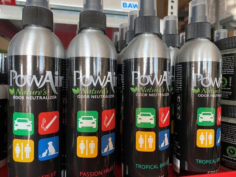 PowAir, a valódi szagmentesítők